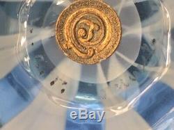 Antique L C T LOUIS C. TIFFANY FAVRILE PASTEL OPALESCENT ART GLASS VASE