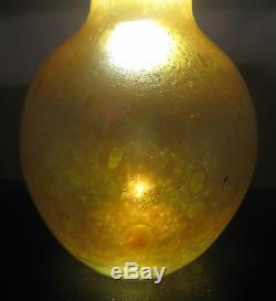 Antique LOETZ Art Glass Vase Astraa Decor circa. 1900 Kralik Rindskopf Pallme Era