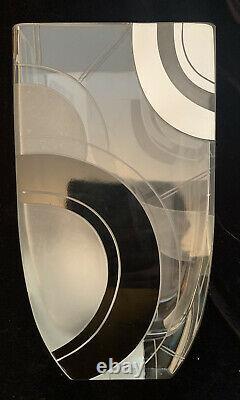 Art Deco Karl Palda Glass Vase