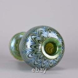 Art Nouveau Czech Lava Phanomen Vase by Johann Loetz