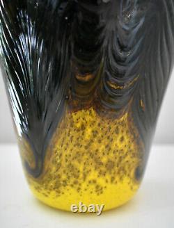 Bohemian Art Nouveau Jugendstil Irridescent Glass Vase