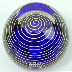 Bohemian Czech Art Glass Vase Stanislav Libensky Skrdlovice Glassworks