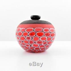 Davide Salvadore Glass Vase/Vessel, Murano, Italy (Venini, Seguso, Cenedese)