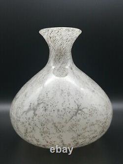 Ercole Barovier Glas Vase Efeso Art Glass, Murano Italy ca 1968s
