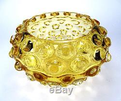 Ercole Barovier Glas Vase lenti Art Glass Barovier & Toso Murano Italy um 1940