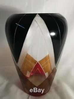 Extra Large Karl Palda Art Deco Vase