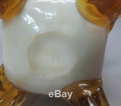 Fine 13.25 STEVENS & WILLIAMS Art Glass Vase MINT c. 1900 antique English