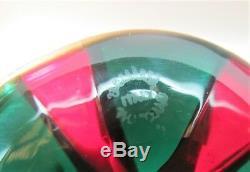 Fine FULVIO BIANCONI for VENINI MURANO Italian Art Glass Carafe Vase c. 1950s