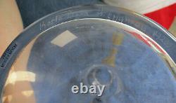 KOSTA BODA Art Crystal DUCK PITCHER CARAFE VASE Sweden Signed Engman Clear/Color