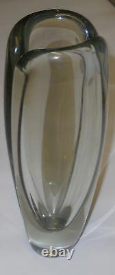 Kaj Franck Vintage Art Vase Usva Nuutajarvi Finland Signed 1961 Kaj Franck