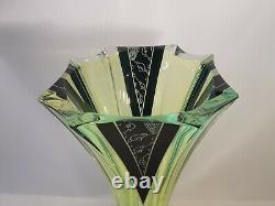 Karl Palda style Art Deco Vase