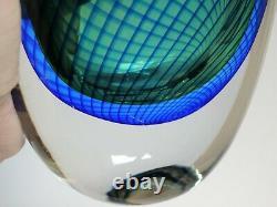Kosta Scandinavian Art Glass Vase Designed by Vicke Lindstrand, ca. 1958-59