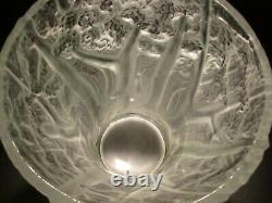 LG BAROLAC JOSEF INWALD FOREST Vase Art Glass Lk Desna Lalique Daum CZECH