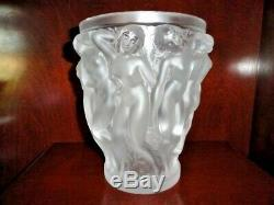 Lalique Bacchantes Art Nouveau10 Female Nude Vase