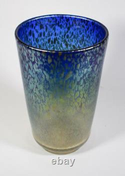 Large Loetz Papillon Art Glass Vase Circa 1930