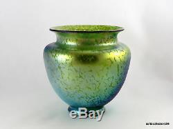 Loetz Crete Papillon Décor PN I 7830 Jugendstil Art Glass Vase Ca. 1900