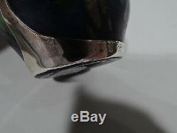 Loetz Cytisus Neurot Vase Alvin 103 Bohemian Czech Art Glass Silver Overlay