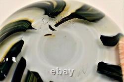 Lotton Studios Jerry Heer Art Glass Vase Signed Dated 2002