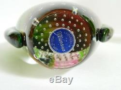 MURANO ART GLASS VASE GLASSWARE Cristalleria stile d' arte 9 HOME DECOR