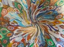 Murano Art Glass MILLEFIORI Vase