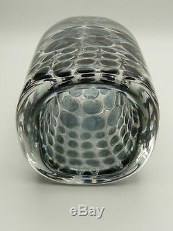 Orrefors Schweden Ariel Glas Vase Ingeborg Lundin Scandinavian Art Glass