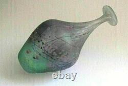PETER LAYTON British Studio Art Glass vase