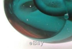 RARE 1960s Murano Cenedese Antonio Da Ros Alexandrite Art Glass Freeform Vase