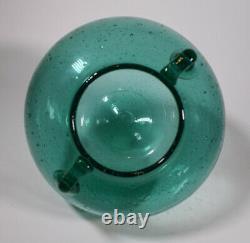 Rare Blenko Green Art Glass Vase, Circa 1935