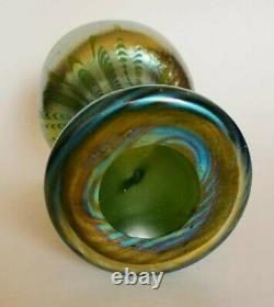 Rare Decorated Loetz Art Glass Vase