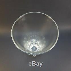 STEUBEN Large 13.75 x 7.5 LOTUS Art Glass Vase