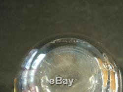 Steuben Mid-Century Art Glass Crystal SIGNET Vase, #8002