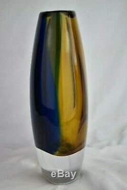 Stunning Boda Kosta Art Glass Vicke Lindstrand Vase 1950s