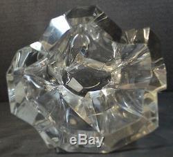 Tapio Wirkkala Ittala Iceberg Vase Scandinavian Art Glass