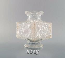 Timo Sarpaneva for Iittala, Crassus art glass vase