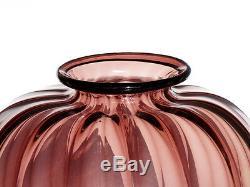 VENINI Soffiati vase Murano glass Zecchin Cappellin MVM art deco 20's 30's