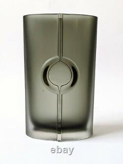 Vintage Glas Vase Tapio Wirkkala iittala Model 3307 Art Glass signiert 60er