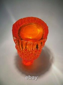 Whitefriars Art Glass Vase By Geoffrey Baxter