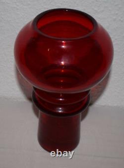 Zbigniew Horbowy design glas Vase 60s Vintage midcentury Modernist artglass