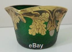 1900 1925 Legras Mont Joye Petit Vase Art Nouveau