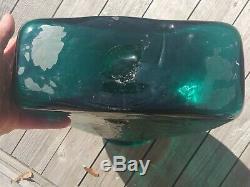 1966 16 Art Blenko Studio Vtg Vase Plancher En Verre MCM Sculpture Joel # 6619 Myers