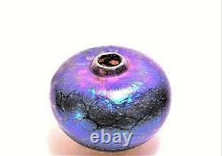A Signé 2000 Siddy Langley Art Verre Vase
