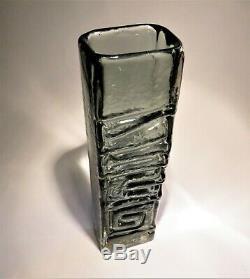 A Whitefriars Art De Verre Vase Par Geoffrey Baxter, Totem Pole # 9671