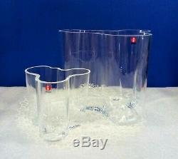 Alvar Aalto Vase Iittala Art En Verre Soufflé Vases Set