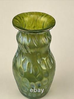 Antique Loetz Bohemian Art Verre Miniature 4 Diaspora Vase Diaspora