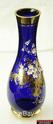 Applique Art Vase Art Déco Vase Art Déco Bleu Art Déco