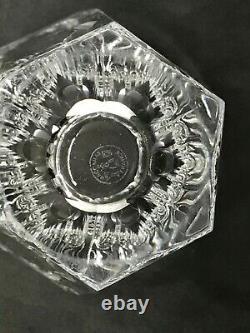 Baccarat-france Medium 6 5/8 Tallyrand Nelly Art Glass Crystal Vase-stunning