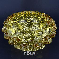 Ercole Barovier Glas Vase Lenti Art Glass Barovier & Toso Murano À Partir De 1940