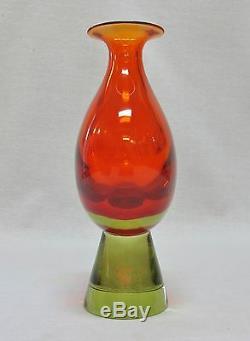 Exceptionnel Flavio Poli Sommerso Vase Pour Seguso Vetri D'arte (12-1 / 2h)