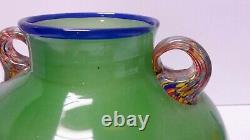 Gabriella Bisetto Urn Vase Retro MID Century Australian Art Glass Artist Studio