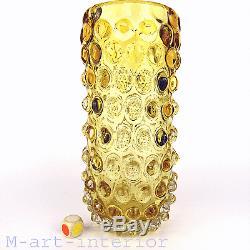 Glas Vase ´lenti´ Ercole Barovier & Toso Art Glass Murano Italie À Partir De 1940-1950